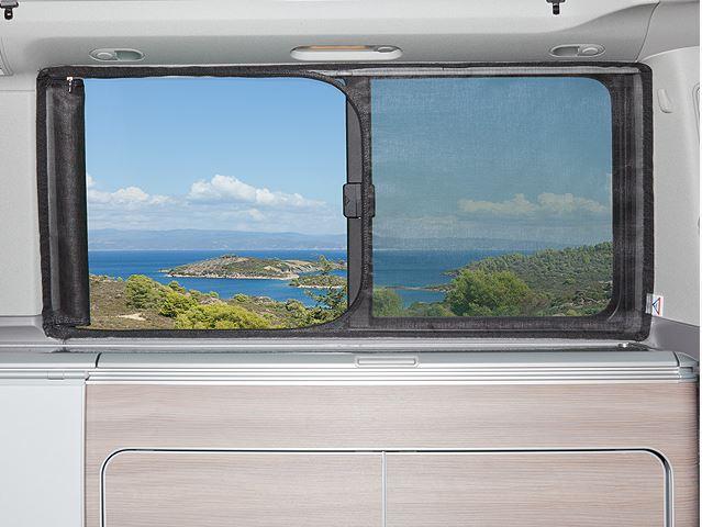 FLYOUT für Schiebefenster links VW T6.1/T6/T5 California (Beach ab 2011) full