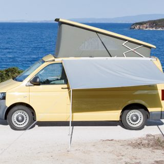Rollmarkisen-Vorderwand für VW T6.1/T6/T5 California full