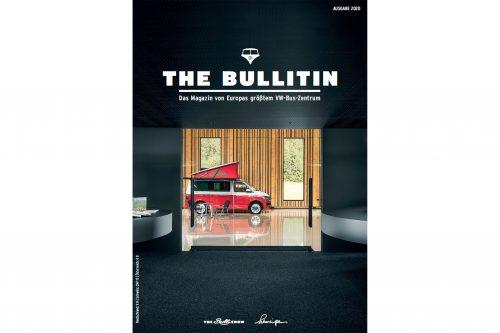 Unser neues Magazin The Bullitin mit Themen rund um den VW-Bus, unsere Geschichte, Zukunftspläne, Sondermodelle und Routen durch unsere Bulli-Region ist ab sofort erhältlich.
