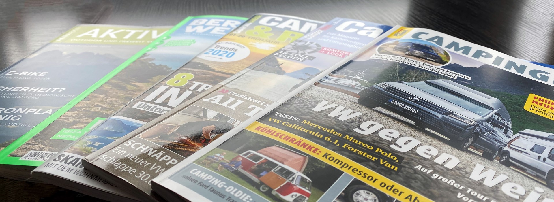 Top 5 Magazine Zeitschriften