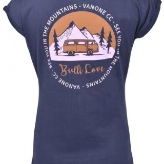 BULLI LOVE Damen T-Shirt navy full